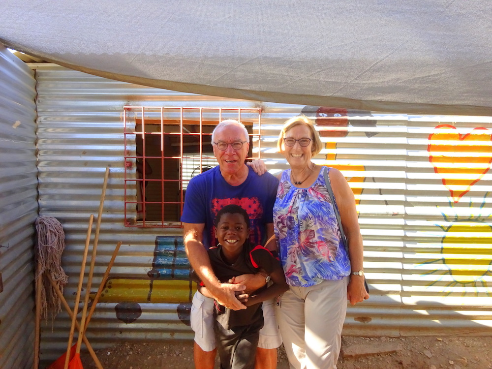 Diny and Bart Peters visit Home of Good Hope