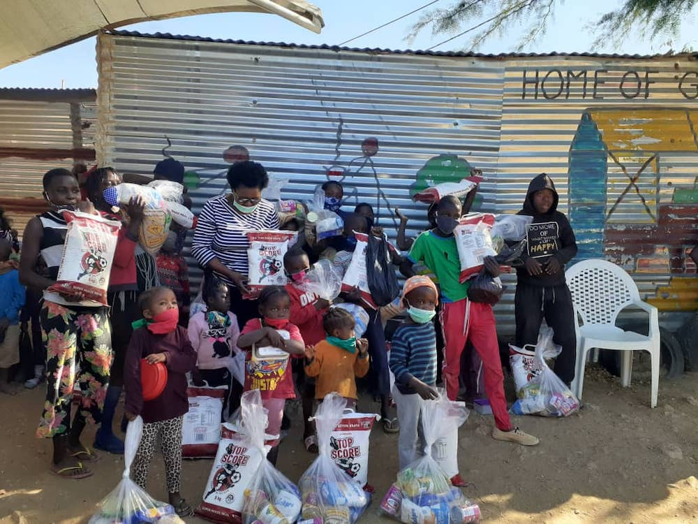 First 150 food packages distributed, extra help is urgently needed